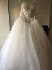 Prinzessin Brautkleid Original Größe 36