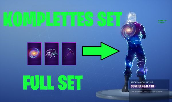Fortnite Galaxy Skin Account - BLITZVERSAND