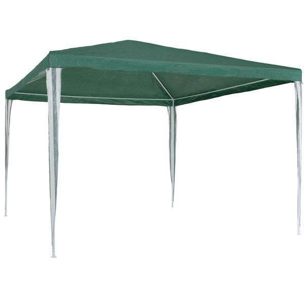 Pavillon 3x3m Wasserdicht grün UV-Schutz