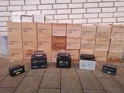 12 Volt Batterien für verschiedene