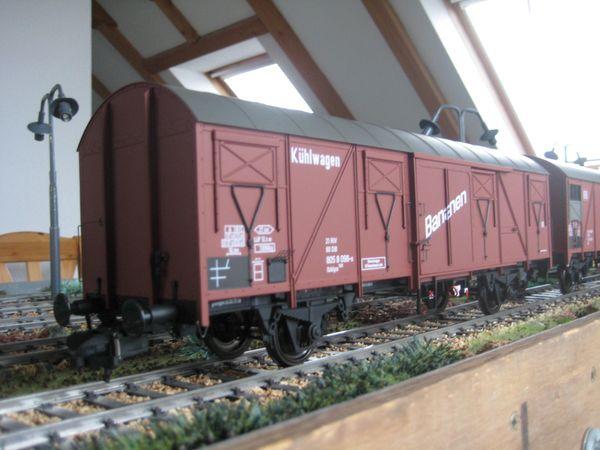 Modellbahn Spur 1 MBW Güterwagen