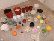 Blumenübertöpfe Keramik verschiedene Größen und