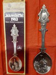 WMF Jahreslöffel 1983 - Schloss Lichtenstein