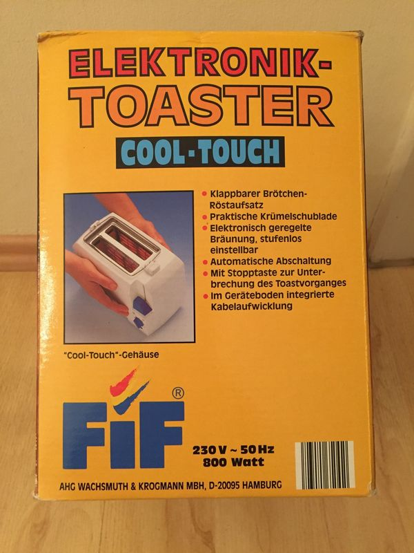 Toaster FIF Elektronik Toaster cool
