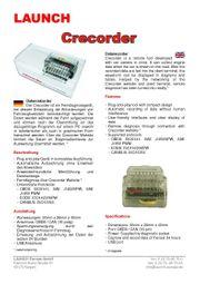 OBD 2 Diagnoseadapter Signalaufzeichnung und