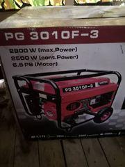 Stromgenerator PG 3010 F