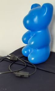 Bärchen Lampe 15 Watt blau