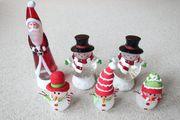 Verkaufe 3 LUMIDA Mini-Schneemänner LED