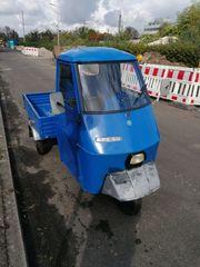 Piaggio Ape 50 TL2T Buckeldach