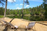 Campingplatz mit eigenem See in