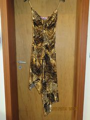 Sexy Animal-Damen-Kleid Gr 36 B