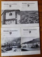 Westricher Heimatblätter 1976 Hefte 1-4