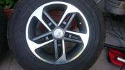 Eriba Alufelgen mit Reifen