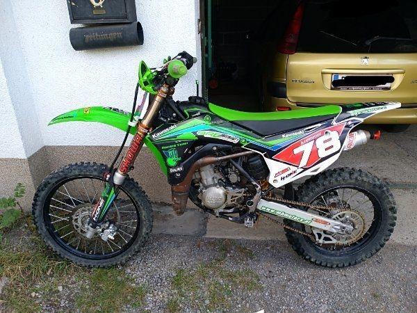 Motocross kawasaki kx 85