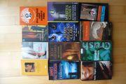 Büchersammlung Krimi Thriller Henning Mankell