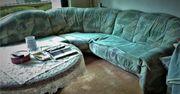 Sofa oder Couch im Winkel