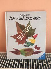 Ich mach was mit Blättern -