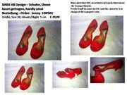 Schuhe schöner roter Schuh