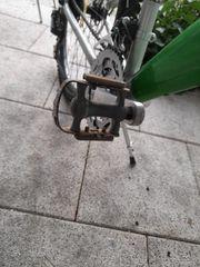 Fahrrad guten Zustand fährt sich