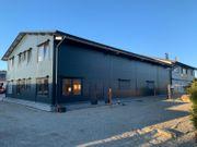 Stahlhalle Mehrzweckhalle mit Wohnbereich