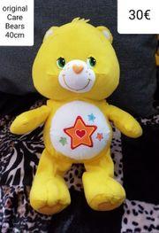 Care-Bears Glücksbärchi Sterne gelb 40cm