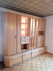Wohnzimmer Schrank massiv Holz echtholz