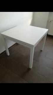 Ikea Tisch weiß Bjursta ausziehbar