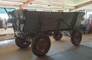 Hänger Leiterwagen Traktor Wagen Garten