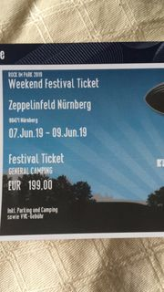 Rock im Park Weekend Ticket