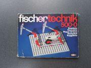 fischertechnik Bauplatte 500-0