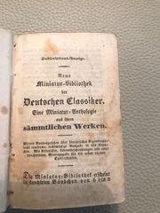 Buch Neue Miniatur-Bibliothek Deutscher Klassiker