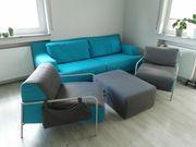 Couch mit 2 Sesseln und