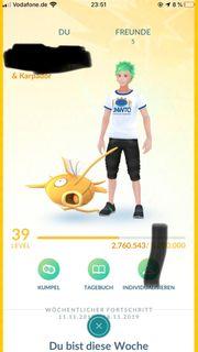 Pokemon Go Account Lvl 39