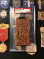 1920 World Series Ticket GM