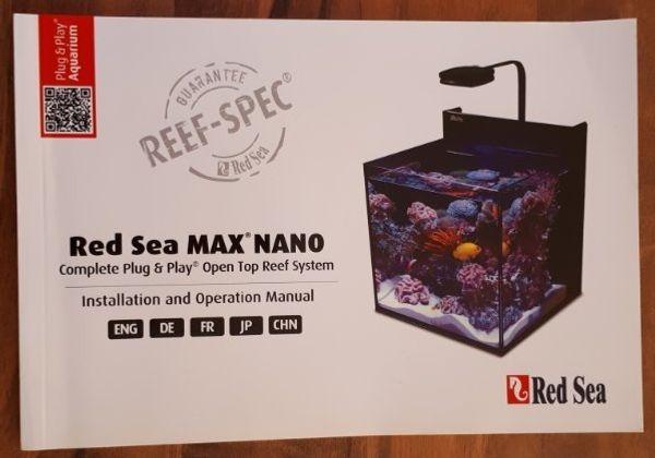 Red Sea Max Nano Meerwasser Aquarium
