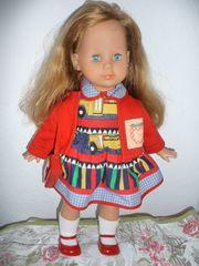 Zapf Puppe Schlafaugen ca 45