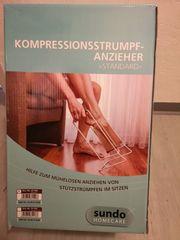 Kompressionsstrumpf Anzieher