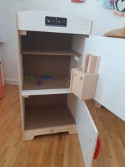 Spielküchengerät Kühlschrank mit Gefrierfach Hape