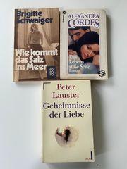 3 Liebesromane Schwaiger Cordes Lauster