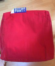 Sitzwürfel in rot - neu