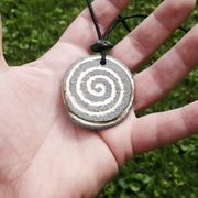 Keltische Amulett Spirale des Lebens