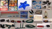 3 Große Flohmarktkisten Kinder-Elektro-Verschiedenes