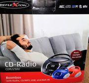 Boombox CD-Radioplayer mit USB -NEU-