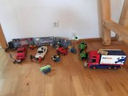 Playmobil Autowerkstatt LKW etc