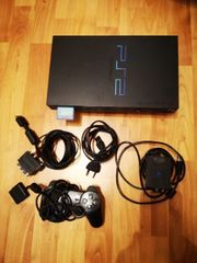 Playstation 2 mit 12 spielen