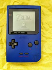Nintendo Gameboy Pocket Blau Spielekonsole