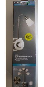 sparsame LED-Steckdosen-Lampe