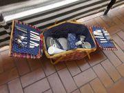 Picknickkorb für 4 Personen mit