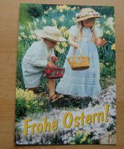 5 Oster Grußkarten Osterkarten mit