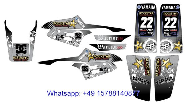 QUAD YAMAHA WARRIOR 350 Dekorsatz